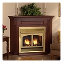 "Picture of Empire Breckenridge Deluxe Vent Free Fireplace 42"" Empire Breckenridge Deluxe Vent Free Fireplace"