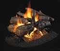 Picture of Charred American Oak See Thru Vented Log Set