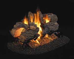 Picture of Charred Oak See Thru Vented Log Set