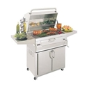 "Picture of Firemagic Stand Alone Legacy 24"" Cabinet Charcoal Grill"