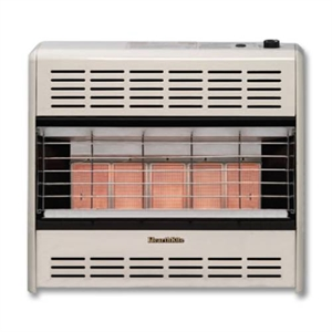 Picture of Empire Comfort Systems HR25ML 25,000 BTU Vent Free (LP Only) HearthRite Radiant Heater