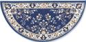 Picture of 56'' Blue Oriental Virgin Wool Half-Round Rug