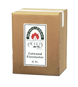 Picture of 20LB Box of Fatwood