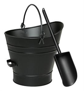 Picture of Ash/Coal Hod / Pellet Bucket w/ Scoop