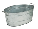 Picture of Standard Oval Galvanized Steel Tub
