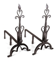 Picture of Cathedral Andirons