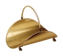 Picture of Log Basket - Antique Brass Plated Finish