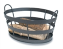 Picture of Shaker Log Bin - Graphite