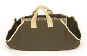 Picture of Canvas Log Carrier - Sage