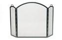 Picture of Arched 3-Fold Screen Large - Graphite