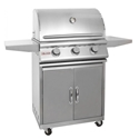 Picture of Blaze LBM 25 Inch 3-Burner Grill On Cart