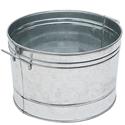 Picture of Round Galvanized Steel Tub