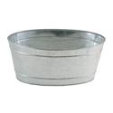 Picture of Mini Oval Galvanized Steel Tub